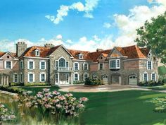 375 Lost District Dr, New Canaan, CT 06840 | Zillow | 5,200 sf | 5 bed | 5 full 3 half bath | built 2012 | 5.09 acres