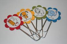 stampin up teacher gifts Up Teacher, Teacher Gifts, Craft Tutorials, Craft Projects, Paper Clip Art, Library Activities, Crafts For Kids, Diy Crafts, General Crafts