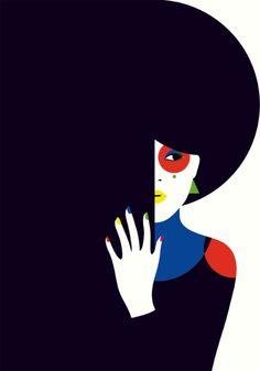 Malika Favre - I love her illustration style.