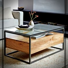 West Elm Storage Coffee Table - Coffee Table with A Japanese Esque Design with Industrial Storage.furniture Industrial Coffee Table Wonderful with Wheels Rattan. Reclaimed Wood Coffee Table, Walnut Coffee Table, Coffee Table With Storage, Coffee Table Design, Modern Coffee Tables, Glass Top Coffee Table, Coffee Table West Elm, Mango Wood Coffee Table, Black Coffee Tables