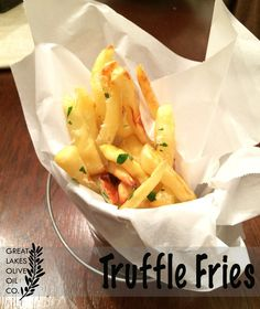 Great Lakes Olive Oil Co. Truffle Fries