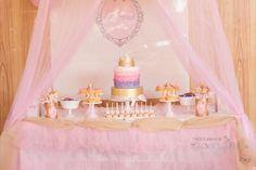 Pink Royal Princess Party 1st #Birthday Theme