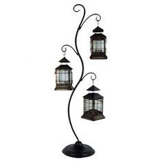 metal stand hanging candle - Google Search