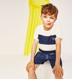 b1f76bce0b6 ZARA - ДЕТИ - ФУТБОЛКА С ПОЛОСАМИ Kids Fashion Wear