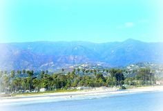Santa Barbra ocean front by hotpinkshell, via Flickr