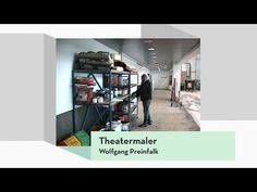 Bühnenmaler / Bühneplastiker - YouTube