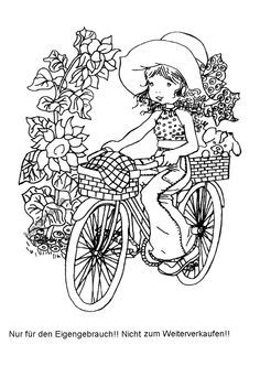 Sarah Kay on Pinterest | Coloring Pages, Holly Hobbie and Flower ...