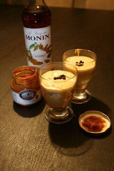 Mousse van Dulce de Leche met karamelsiroop en meringue