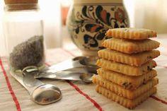 Lavander Shortbread