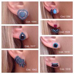 ✔️Brincos maravilhosos @nievastore turquesa com ródio negro, combinação perfeita!! COMPRAS ➡️www.nieva.com.br #shopnow #turquesa #brinco #rodionegro #prata925 #lookofthenight #style #jewelry