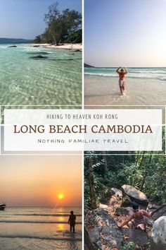 If you find yourself on the beautiful island of Koh Rong, don't miss on hiking to Long Beach. Now's the time to enjoy the paradise of Long beach Cambodia. Landscape Photography, Travel Photography, Portrait Photography, Wedding Photography, Thailand Travel, Asia Travel, Beautiful Islands, Beautiful Beaches, Spring Break Destinations