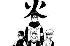 Naruto Next Generation Manga Naruto, Naruto Shippuden Anime, Manga Anime, Boruto And Sarada, Shikadai, Naruto Gaiden, Kakashi, Team Konohamaru, Anime Diys