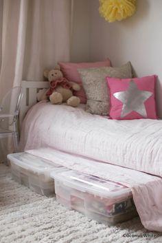 Arjen pelastaja - Orthexin sängynaluslaatikot | Coconut White