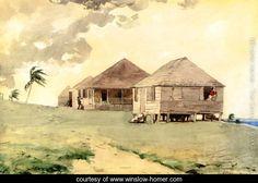Tornado, Bahamas   Winslow Homer