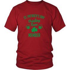 St. Patrick's Day Drinking Team Shirt