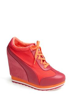 PUMA 'Maderia Winter' Wedge Sneaker (Women) available at #Nordstrom