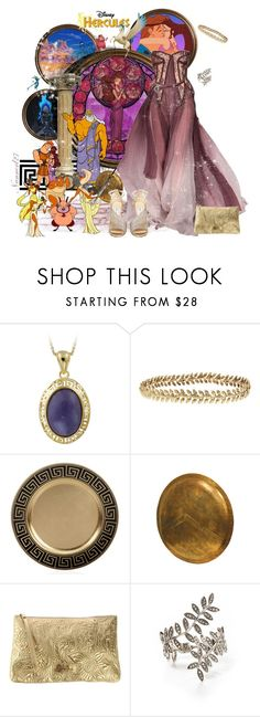 """Megara: Disney's Hercules..."" by nannerl27forever ❤ liked on Polyvore featuring Disney, Glitzy Rocks, Ellen Hunter, Braccialini, CA&LOU and Jimmy Choo"