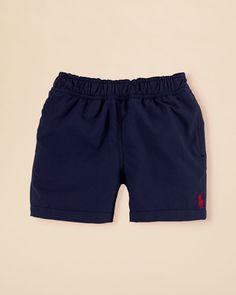 Ralph Lauren Childrenswear Infant Boys' Hawaii Swim Trunks - Sizes 6-24 Months