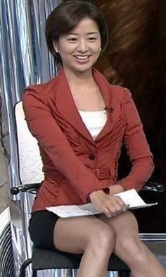 膳場貴子 Japan Girl, Asian Beauty, Mini Skirts, Blazer, Legs, Womens Fashion, Pretty, Model, How To Wear