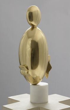 anassembly:    Constantin Brancusi  Blond Negress, II (after a marble of 1928), 1933