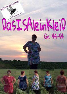Kleider & Schürzen - DasISAleinKleiD, Schnittmuster, Gr. 44-54 - ein Designerstück von DasTapfereISAleinDesign bei DaWanda