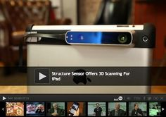Structure Sensor: Capture the World in 3D by Occipital — Kickstarter