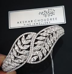 In celebration of the magnificent Marquise Shape settings, which are exceptionally feminine and nothing short of beautiful. This statement Diamond cuff bangle in white gold no doubt boasts regal splendour . Women's Bracelets, Diamond Bracelets, Diamond Rings, Diamond Jewelry, Bangles, Ladies Bracelet, Gold Designs, Jewellery Sketches, Royal Jewels