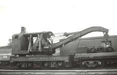 B&O 100 Ton steam Crane X-2, Train Car, Train Tracks, Baltimore And Ohio Railroad, System Map, Old Tractors, Snow Plow, Odd Stuff, Model Train Layouts, Steam Engine
