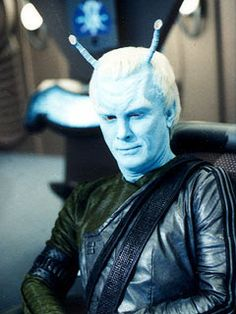 I liked his portrayal of the Andorian Captain in ST:Enterprise. Because the studio's makeup is so good, I didn't relaize he also played on ST: Deep Space Nine as the Dominion's underling race.