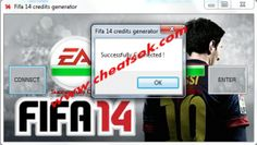 Get fifa 14 credits free in our EA account.How this is possible ? Our Fifa 14 credit hack use encrypted connections to connect to EA database game to extract the fifa credit and send in our accounts.The process is absolutely encrypted so is impossible to be detected.If you don't have the game You can also try our fifa 14 keygen or fifa 14 crack by skidrow or to download fifa 14 full game.