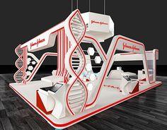 "Check out new work on my portfolio: ""Johnson & Johnson Booth (… Web Banner Design, Kiosk Design, Retail Design, Pop Design, Stand Design, Exhibition Stall Design, Exhibition Stands, Exhibit Design, Maquette Architecture"