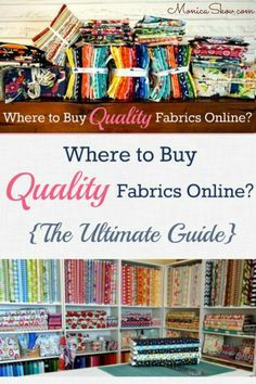 25 Online Fabric Stores compilation on Taradara Made It today ... : online quilting fabric stores australia - Adamdwight.com