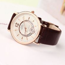 Perfect woman watches,2015 new watches,leather strap brand fashion,Circular calendar, fashion leisure is contracted and generous(China (Mainland))