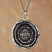 Safe Journeys Necklace. I want this!