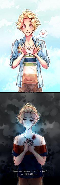 Ai meu coração  ;_;