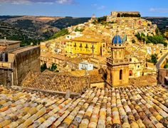 Panoramic view of beautiful village of Ragusa    |   10 Top Rated Tourist Attractions In Sicily