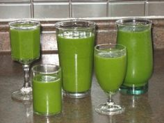 Stay healthy ~ drink green!