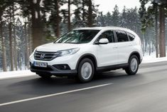 2016 Honda CRV White. I would like one of these or something like it one day.