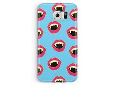 Samsung Galaxy S5 case, kawaii s5, vampire samsung case, S5 case, cover for samsung galaxy, cute samsung case, goth samsung case, s5 cover