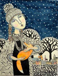 Girl Fox by irinashop