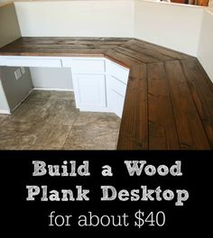 wooden desk top build a wood plank desktop for about pretty handy girl wood planks desks and plank wooden table top drawers