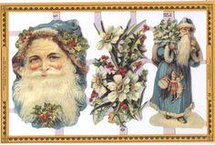 #Christmas #Santa #scraps