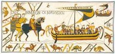 Embarquement To Battle Tapestry. Bayeux Tapestries. The Embarquement To Battle Tapestry is a nice choice, as it's a clever and charming historical work-of-art depicting a scene from The Battle of Has...