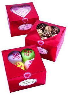 scatole portadolci cuore effetto metallizzato www.dolcementeweb.com