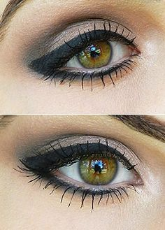 Dramatic Black Liner with a Darkened Crease Tutorial