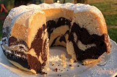 Csodás kuglóf tej és tojás nélkül | TopReceptek.hu Vegan Recepies, Doughnut, Cheesecake, Deserts, Food And Drink, Sweets, Baking, Breakfast, Recipes