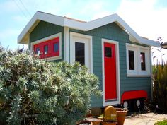 Wheels: tiny writer's studio and guest house