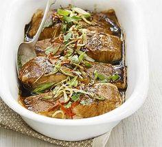 Grilled Thai salmon