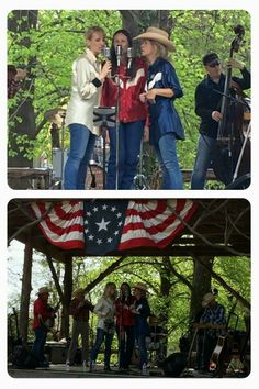 Cherokee Maidens and Sycamore Swing - Art at the Arb 2015