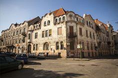 Oradea - les maisons Adorján I et II, arch. Komor Marcell et Jakab Dezsö, 1902-1905. © Musée de Pays des Cris, Oradea
